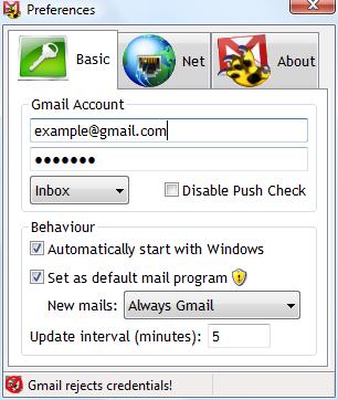 gmail growl configure