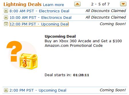 Amazon Xbox Deal