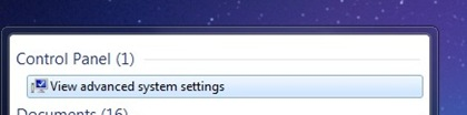 Copy of Search Advanced Settings