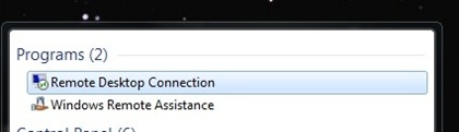 Copy of Search Remote Desktop