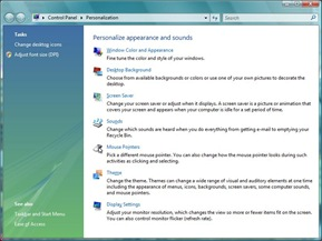 Personalization Vista