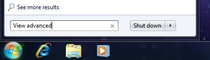 Search Advanced Settings