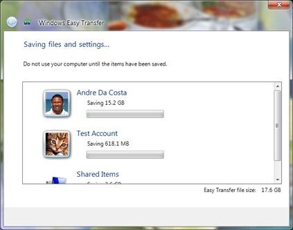 Wet 7 saving files