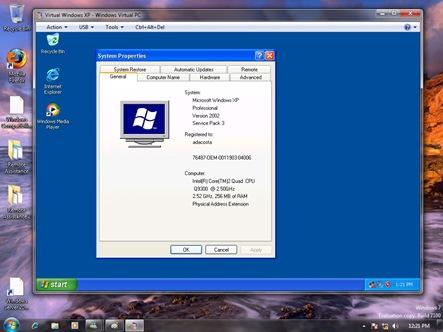 XP Mode interface