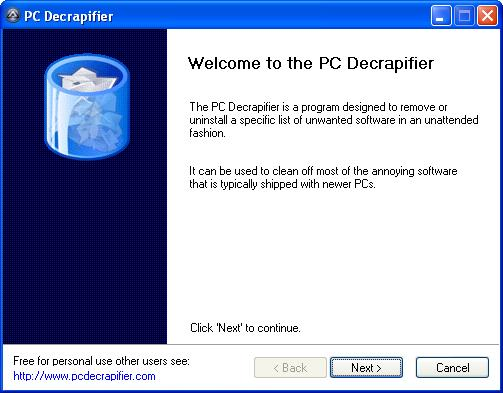 pc decrapifier -1