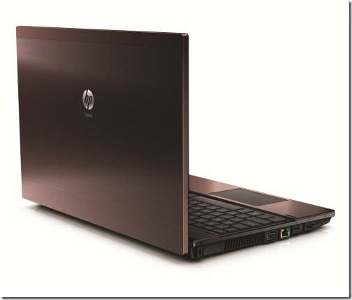 HP ProBook 4525s - Bordeaux Angle Rear