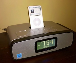 iHome iP90 iPhone/iPod Clock Radio Makes Cowbell Sound Great