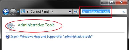 admin tools select