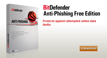 BitDefender Offers Free Anti-Phishing Protection