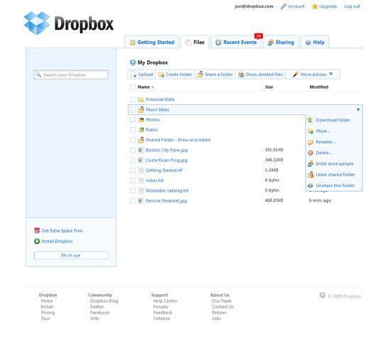 iPad App of the Week: DropBox