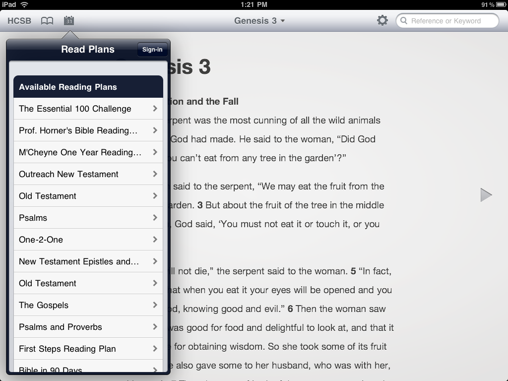 Bible Apps: iPad Apps of the Week