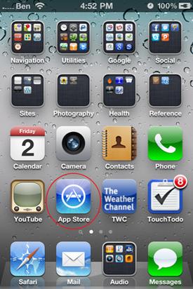 launch app store