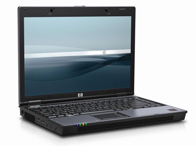 HP Compaq 6515B Notebook Front Angle