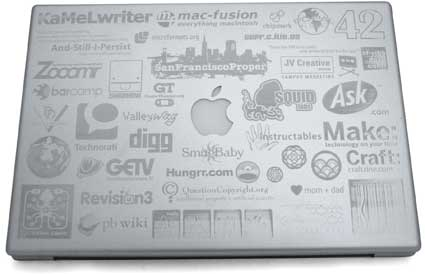 MacBook Pro Laser Etched