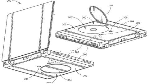 Apple Optical Drives on Bottom