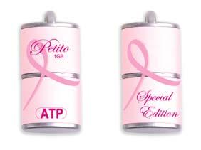 ATP Pink Ribbon USB Komen