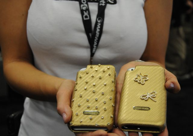 iPhone Case Mate Gold Diamond