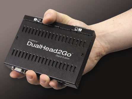 DualHead2Go Digital Edition for Notebooks
