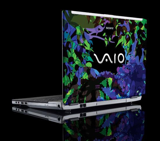VAIO FZ Maya Hayuk Special Edition Grow