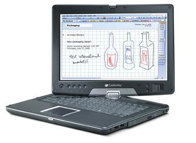 Gateway E-155C Convertible Notebook