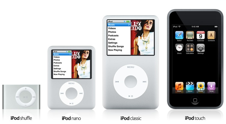 iPod Touch, new Nanos, Shuffle and iPod 'Classic' Announced