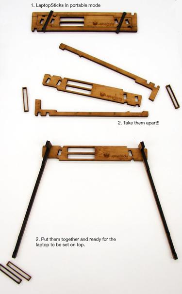 Laptop Sticks