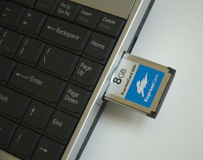 Lexar ExpressCard SSD Slot