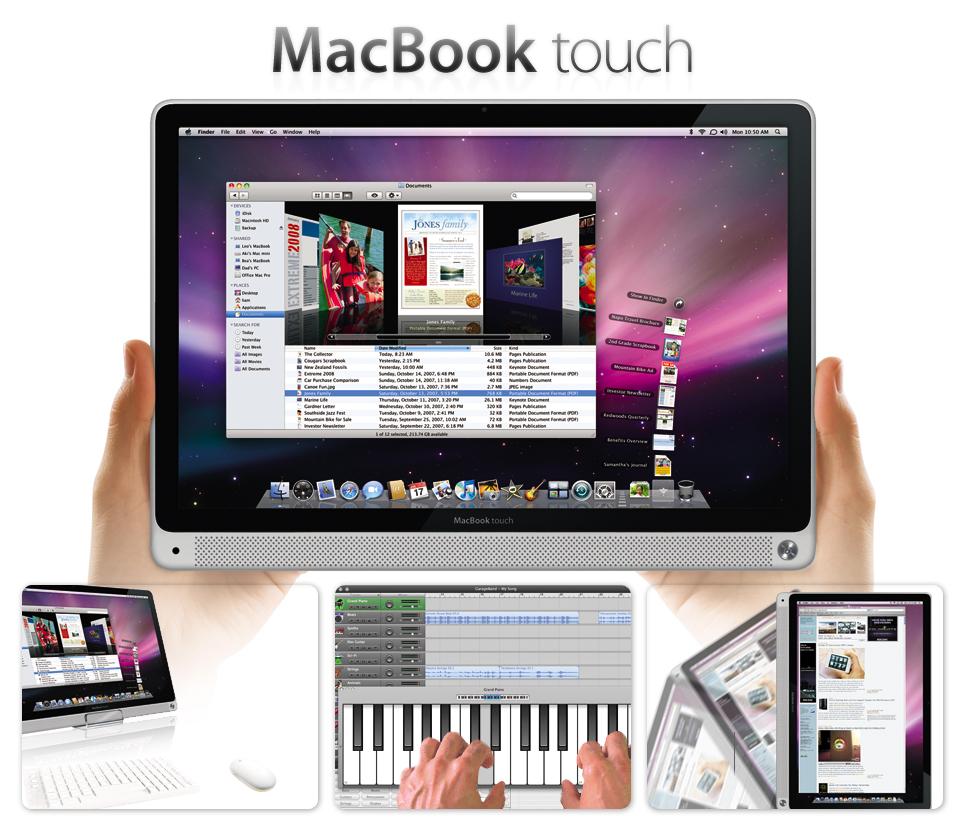MacBook Tablet Concept