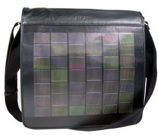 Solar Notebook Bag